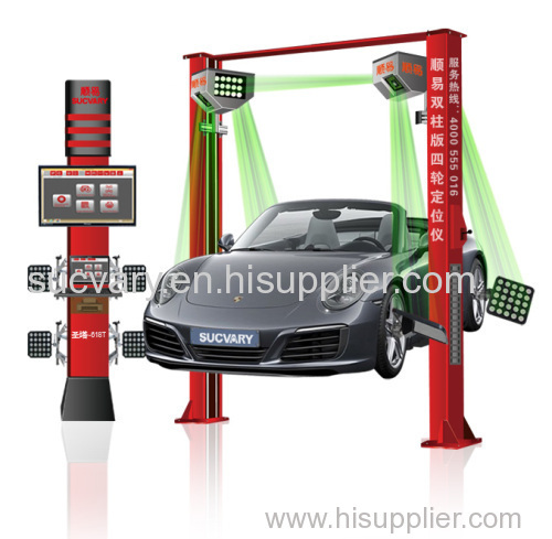 5D wheel alignment for all kinds of car lift with highest precision in China