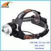 10W Cree XML T6 LED headlamp 4AA/2*18650 rechargeable headlight 500Lumen fishing lamp camping lantern Hiking lamp