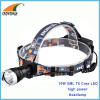 10W XML T6 Cree LED Headlamp 500Lumen high power headlight camping lantern 2*18650 rechargeable fishing lamp CE RoHS