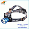 10W XML T6 Cree LED Headlamp 500Lumen high power headlight camping lantern 4*AA or 18650 rechargeable fishing lamp