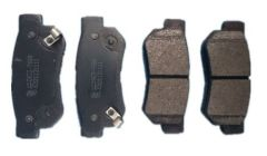 Auto Spare Parts Semimetal rear brake pads