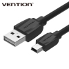 Vention High Speed MINI USB To USB Data Charger Cable For Cellular Phone MP3 MP4 GPS Camera HDD Mobile Phone