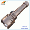 0.5W LED powerful flashlight 2AA working lamp 20Lumen light weight hand torch camping lantern cheap and durable light