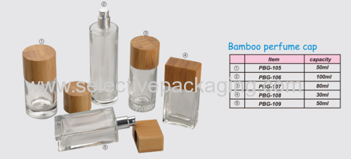 hot sell bamboo perfume cap