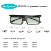 projector 3D glasses with logo