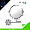 wall mounted cosmetic mirror for bathroom