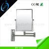 rectangle wall mounted double side magnifying mirror