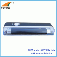 UV LED money detector lamp 4W T5 UV tube lights LED pocket lamp