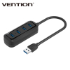 Vention High Speed Mini 4 Ports USB 3.0 USB Port For Laptop PC Computer Laptop Peripherals Accessories