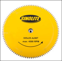 "TCT saw blade 305mm (12"")-96T for hard wood with nail"