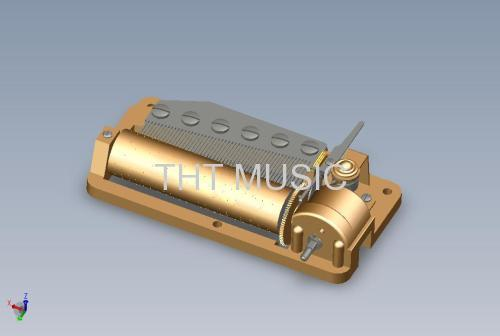 EASY USE 50 NOTE MUSIC BOX MECHANISM