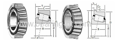 140x190x32 mm Tapered Roller Bearings