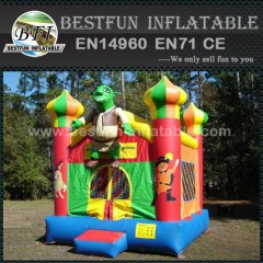 Shrek inflatable bounce house children jumping castle