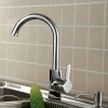 FUAO Single Handle UPC Zinc Kitchen Mixer Faucet