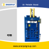 Vertical used clothing baler