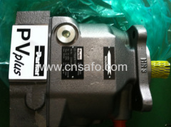 Hydraulic static Parker piston pump