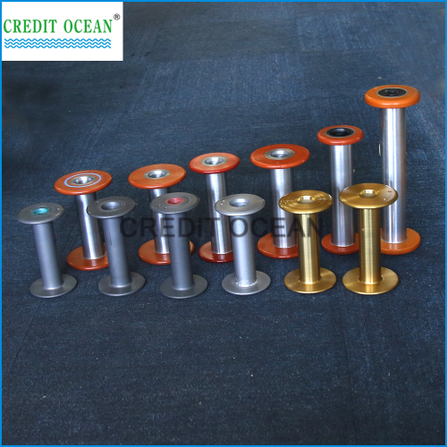 CREDIT OCEAN super hard aluminum bobbin for covering machines