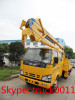 ISUZU 20m telescopic high altitude operation truck for sales
