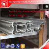 Aluminum extrusion for sliding window and door