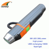 Flashlight 5W 280Lumen Led flashlight USB rechargeable torch 18650 lithium battery recharging for mobile emergency light