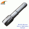 3W Led flashlight Led torch 18650 Lithium rechargeable torch high power 180Lumen flashlight outdoor lamp camping lantern