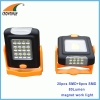SMD high power working light magnet and stand repairing lamp outdoor 80Lumen camping lantern 3*AAA battery