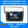 Ouchuangbo car dvd gps radio for VW golf 4 with iPod USB SD free Russia map