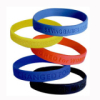 OEM debossed silicone band