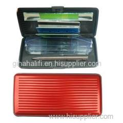 Large Capacity Aluminum Long Card Wallet
