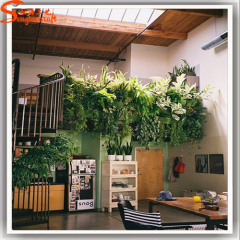 Artificial plants wall for hotel garden