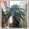 Garden landscape trunk colors Palm trees artificial plant type and fabric material outdoor plants