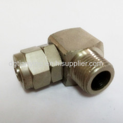 Cheap price garden hose reel swivel connector from dongguan supplier