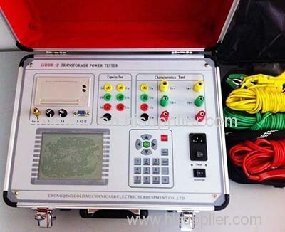 Transformer Load No-load and Capacity Tester