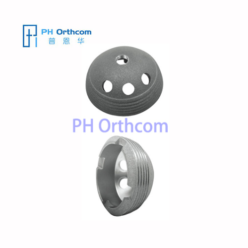 Metal Shell with HA Coasting for Total Hip Prosthesis Titanium Cementless Acetabular Cup Arthroplasty Medical Implant
