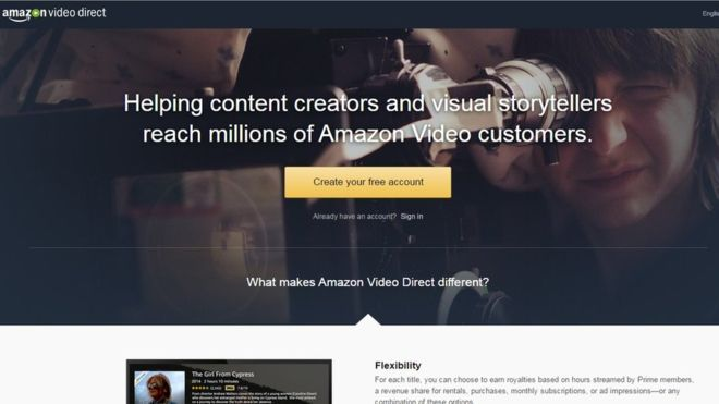 Amazon Video Direct poses challenge to YouTube