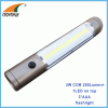 3W COB 250Lumen flashlights 3AAA hand torch light weight cheap lamp outdoor lamps ABS magnet portable lantern