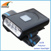 3LED Headlamp hand motion sensor lamp Polymer lithium rechargeable clip headlight camping lantern hiking lamp CE RoHS