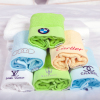 Wholesale White 100% cotton hotel bathroom towels with Cheap Price