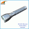 3W LED 180Lumen flashlights 6*AAA big size hand torch aluminum emergency lamp outdoor camping lantern