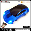 2016 Hot saling factory whole 2.4G RF mini car gift porsche Wireless optical laptop cordless car shape mouse