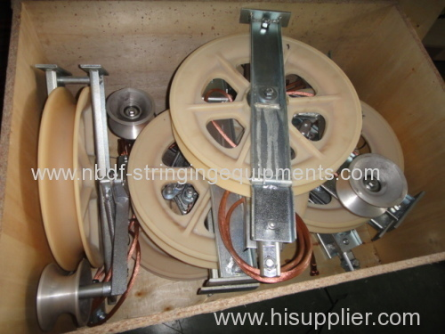 Aerial Cable Stringing Rollers for Conductor on Overhead Transmission Lines