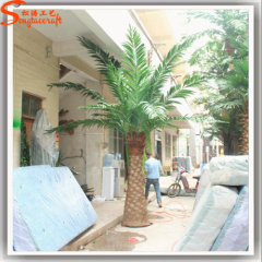 fiberglass steel artificial date palm tree can be customized artificial outdoor palm trees artificial tree