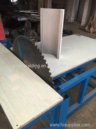 Trimming machine and cutting machine for EPS cornice