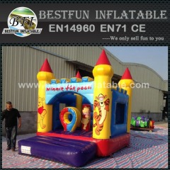 Winnie inflatable bouncer wholesale commercial bounce houses