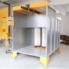 manual powder spraying booth