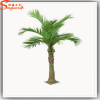 Artificial outdoor mini coconut tree waterproof for garden coconut palm trees with leaves