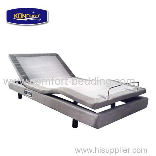 2016 popular adjustable electric bed with massage for house use