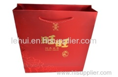 paper shopping bags with handle