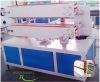 clear fiber braided pvc soft hose production line/pvc soft hose production machine