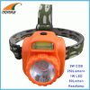 2W COB 200Lumen headlamp 1W LED 80Lumen headlight camping headlight fishing lamp outdoor emergency light 3*AA battery